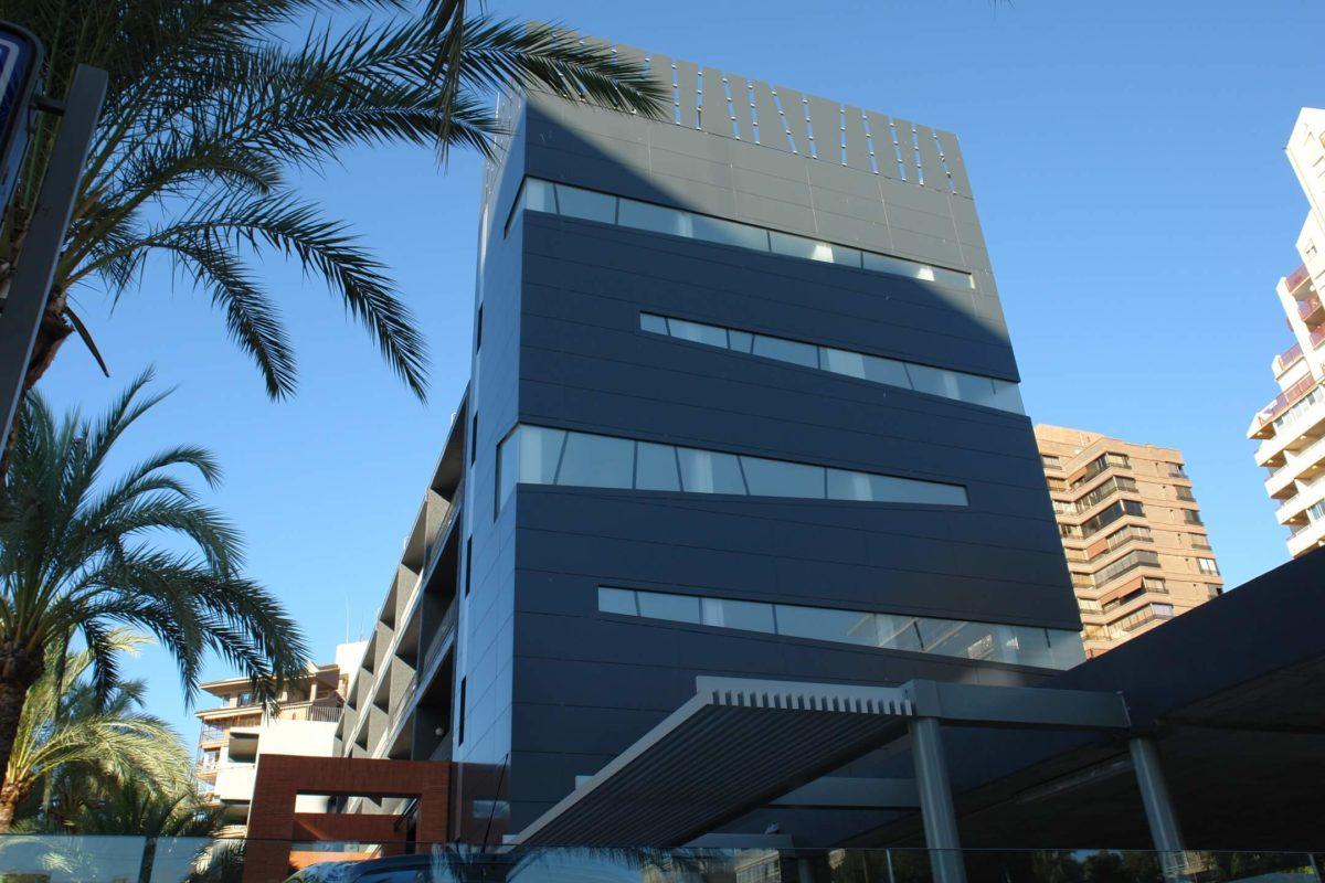Proyecto de arquitectura. Hotel Palmeral