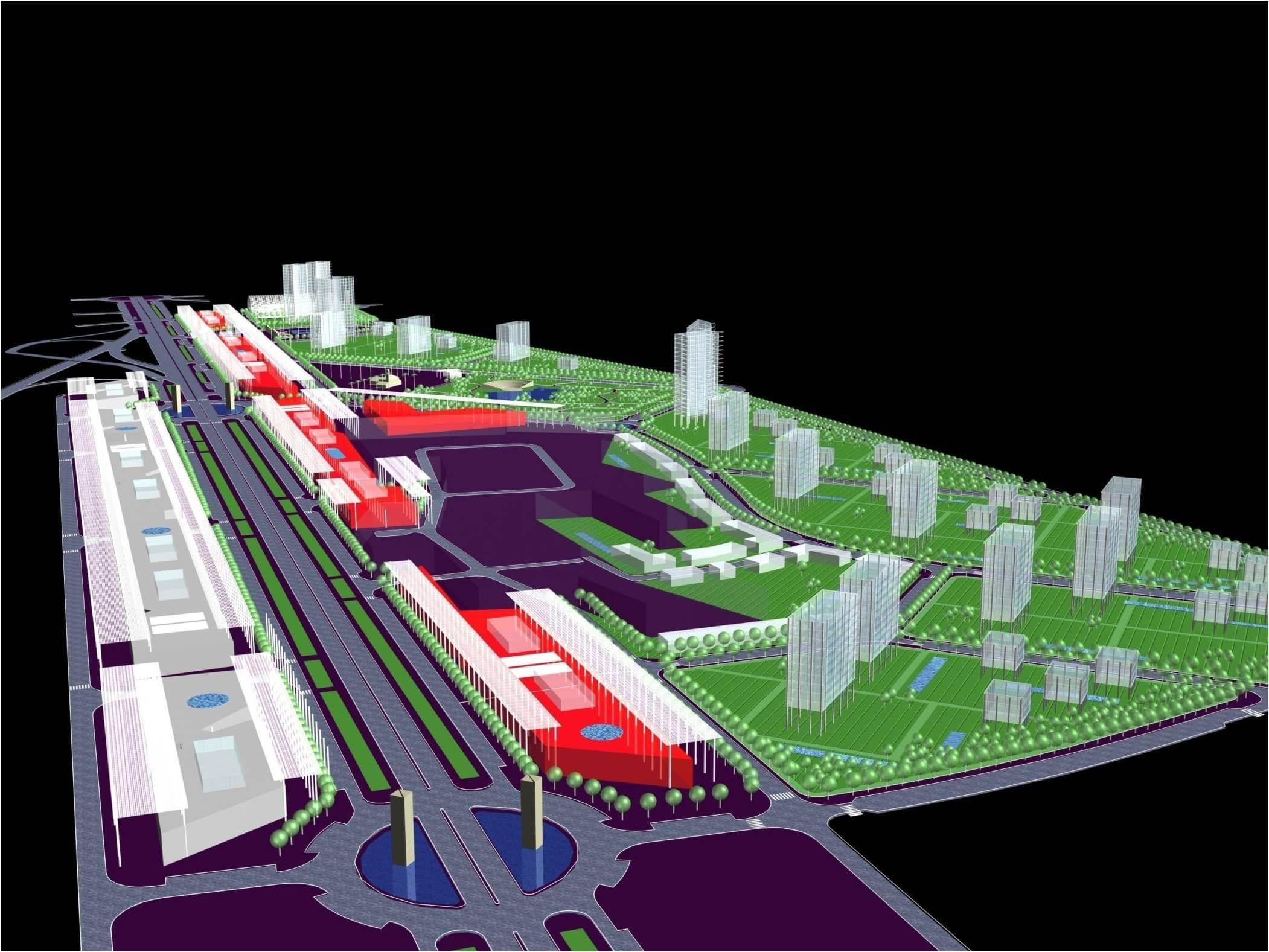 Proyecto urbanismo polígono Media Legua