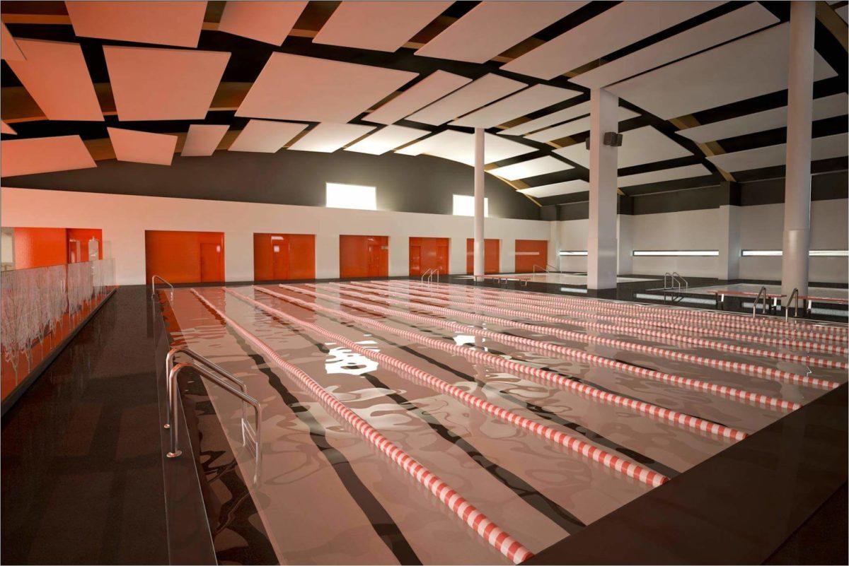 Proyecto de arquitectura gimnasio We Granada