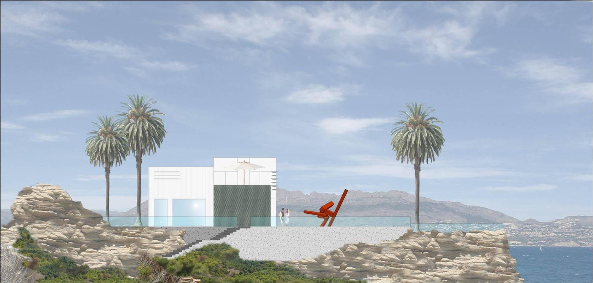 3 Casa del acantilado en El Albir